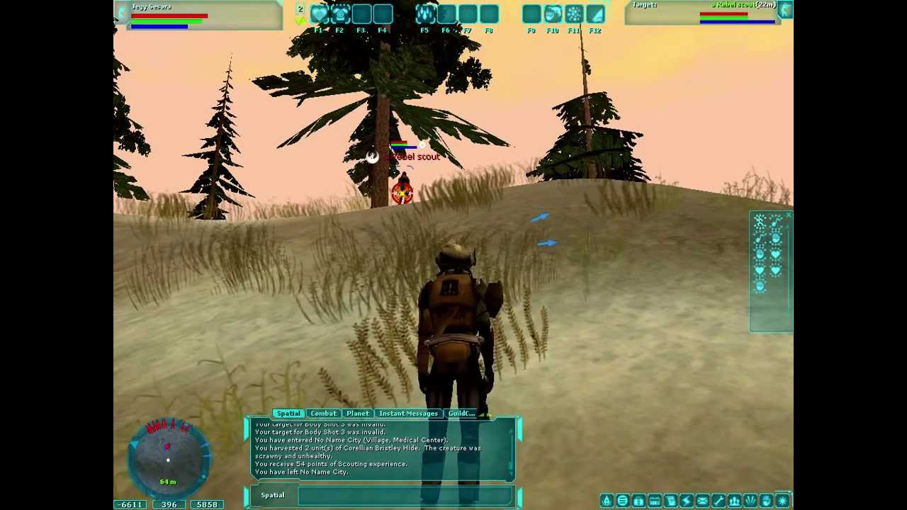 star wars galaxies emu combat youtube