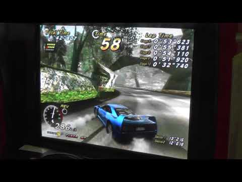 "OutRun 2 SP Time Attack T/MT new 4D RVI-KT 52""659"