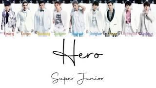 Super Junior Hero Lyrics