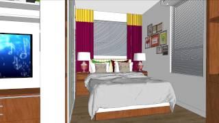 375 sq. ft. Apartment Design