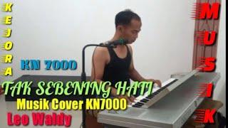 TAK SEBENING HATI Cover musik Versi KN7000 Dangdut santai -Leo waldy