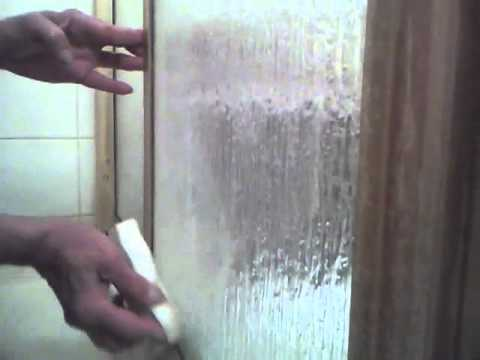 How to clean glass shower doors remove rust stains and scum youtube how to clean glass shower doors remove rust stains and scum planetlyrics Images