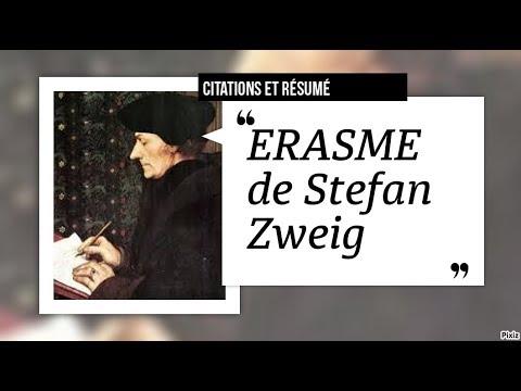 Biographie D Erasme Par Stefan Zweig Youtube