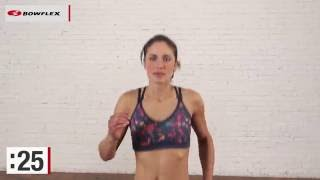 Bowflex® Bodyweight Workout   Two-Minute Cardio Warm-Up
