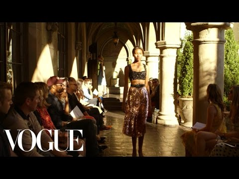 L.A. Fashion Show at Chateau Marmont - CFDA/Vogue Fashion Fund - Vogue