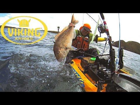 BIG SNAPPER - Kayak Fishing With Viking Kayaks