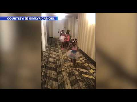 Simon Conway - You're five and having a slumber party at a hotel! Where do you want to go?