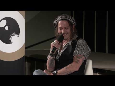 A Conversation with… Johnny Depp at Zurich Film Festival - YouTube