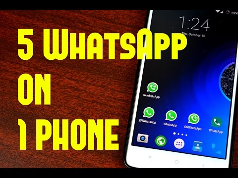 How To Install 5 WhatsApp Accounts On One Phone