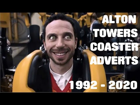 Alton towers TV adverts