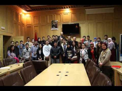 """Conseil des Jeunes Citoyens Oujda dans l'émission """"Avec les jeunes"""" (ma3a chabab)"""