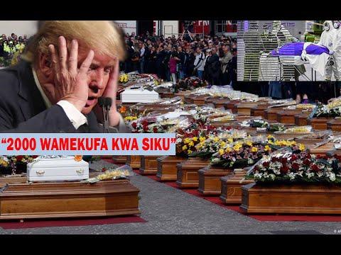Download MAREKANI yavunja rekodi ya vifo vya Corona! Trump Apewa onyo