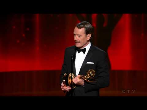 "Bryan Cranston wins an Emmy for ""Breaking Bad"" 2014"