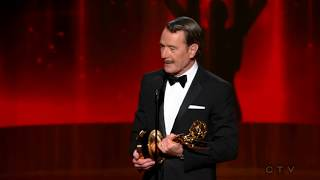 bryan cranston wins an emmy for breaking bad 2014