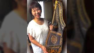This instrument is British dital-harp of the year 1820 AD. It arriv...