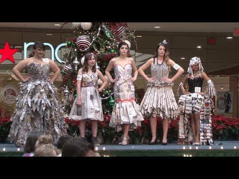 Designers Show Off Recycled Fashions at Annual Show