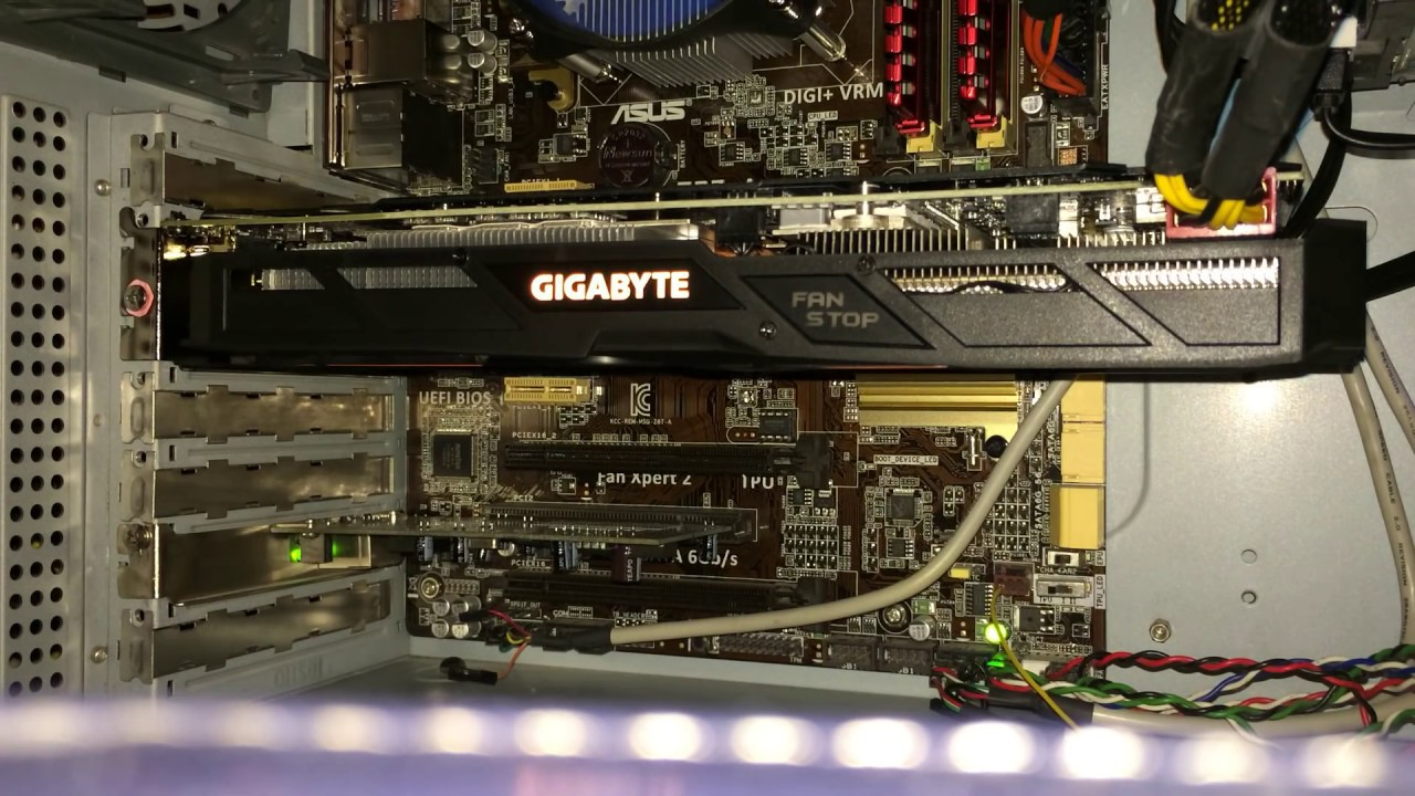 Gigabyte GeForce GTX 1060 G1 Gaming 6G noise problem
