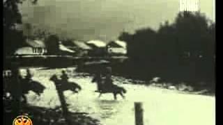 Первая мировая война, казаки в атаке