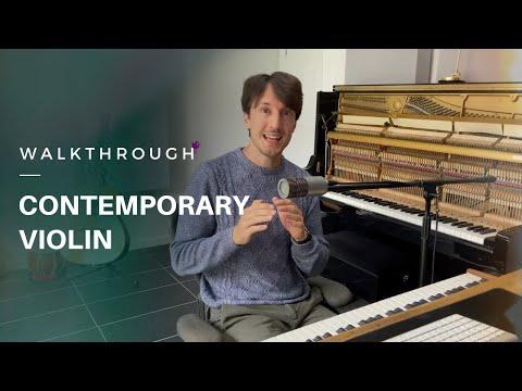 Contemporary Soloist: Violin   Walkthrough