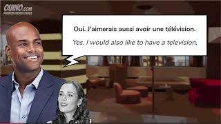 4 Learn French with Conversations  #6   Arriving at the Hotel   OUINO com   YouTube