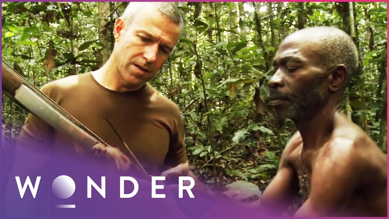 Download This Man Survives As Part Of A Jungle Tribe | Man Hunt S1 EP3 | Wonder