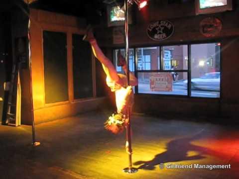 80s pole dance
