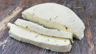 Не покупайте СЫР в магазине. Сделайте сами. Простой и быстрый рецепт Домашний Сыр. Время поесть.