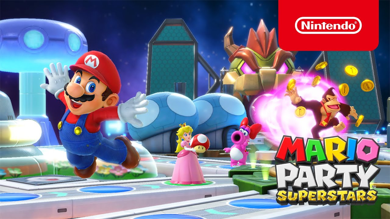🎉 Mario Party Superstars gets the party started October 29th (Nintendo  Switch) - YouTube