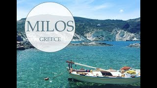 Milos, Greece for 3 Days - Exploring the Greek Islands