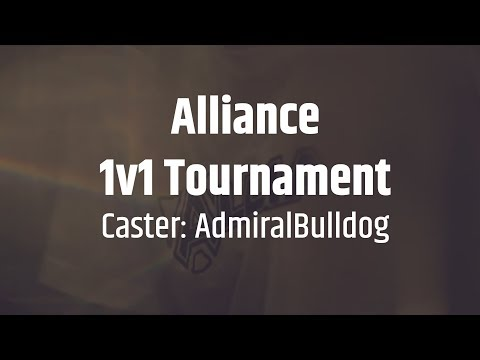 Alliance 1v1 Tournament: Part 1 - powered by GG.Bet