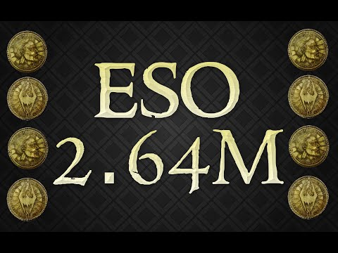eso l make 2 64m gold in 3 hours youtube