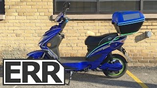 Daymak Chameleon Video Review(http://electricridereview.com/daymak/chameleon/ The Daymak Chameleon is an electric scooter with integrated solar panels on the optional rear storage box ..., 2015-10-14T22:33:15.000Z)