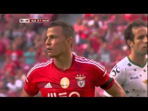 Golo BENFICA  Lima 82´ SL Benfica vs  Moreirense, Primeira Liga