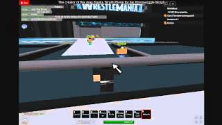 Funny things happen in ROBLOX! Ep 4. More wrestling (wwe)