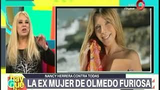 ¿Cómo se conocieron Nancy Herrera y Olmedo?