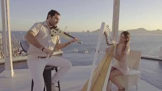 Duo Pavan  Violin & Harp  Canon / All of me