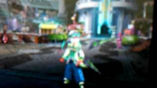 phantasy star zero lvl 100