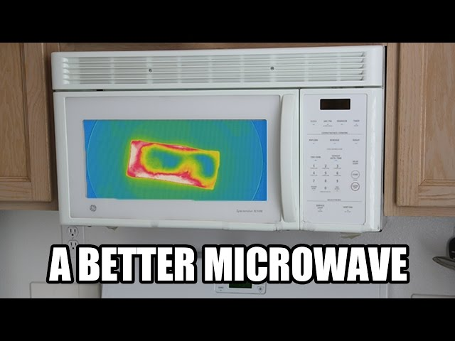 Ingenious Infrared Microwave Shows Your Food Change Color As It Heats Up