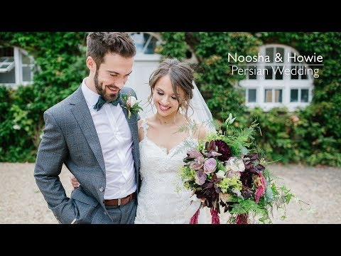 Northbrook Park Persian Wedding highlights | Noosha & Howie