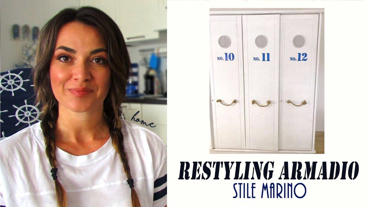 Armadio Casa Al Mare makeover armadio : restyling in stile marino (casa al mare fai da te)