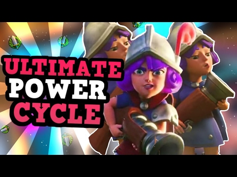 Introducing 3M POWER CYCLE!! :: NO LEGENDARY? No Problem! :: Clash Royale