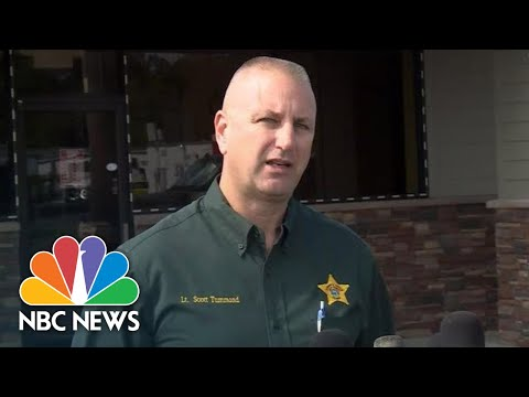 Florida Sheriff's Office: 'Two Heroes … Were Ambushed' | NBC News
