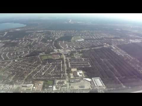 Dallas Love Field-to Houston (IAH) flight takeoff (13L) to landing (26R) 2011-03-15