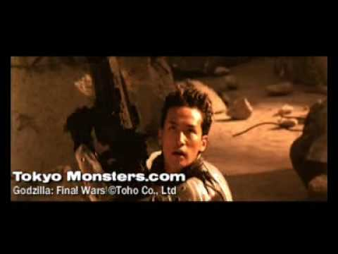 Godzilla Final Wars Theatrical Trailer