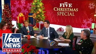 'The Five' celebrates Christmas Eve with a look back at highlights from 2018