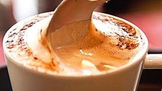 cappuccino cremoso com 2 ingredientes simples e fácil de fazer