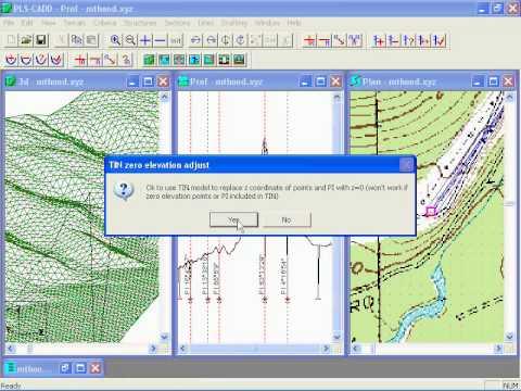 Importing USGS data in PLS-CADD