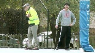 Grandpa Steals Kids Basketball (PRANK)