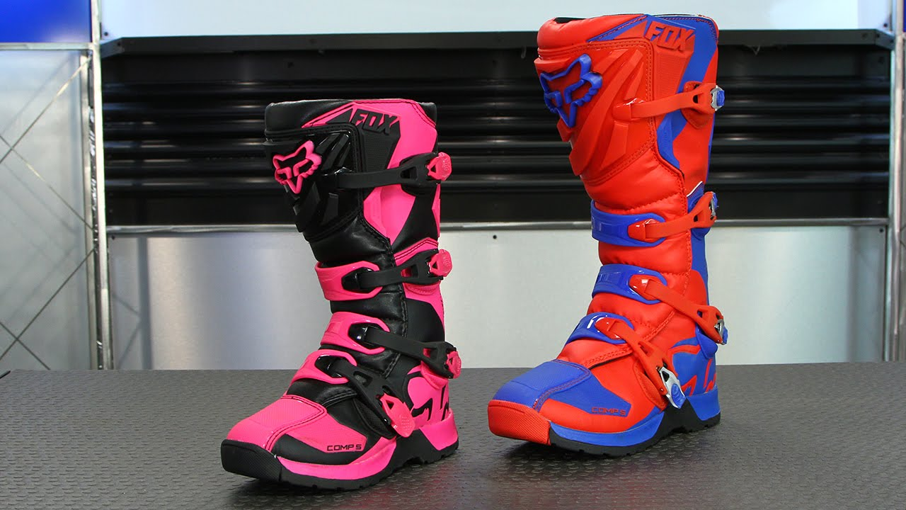 fox racing comp 5 boots motorcycle superstore youtube. Black Bedroom Furniture Sets. Home Design Ideas