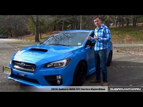 Review: 2016 Subaru WRX STI HyperBlue